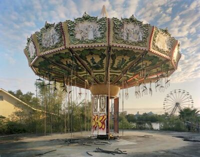 Andrew Moore, 'Zydeco Zinger, Abandoned Six Flags Theme Park, New Orleans,', 2012