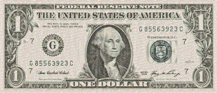 Robert Silvers, 'One Dollar Bill', 2010