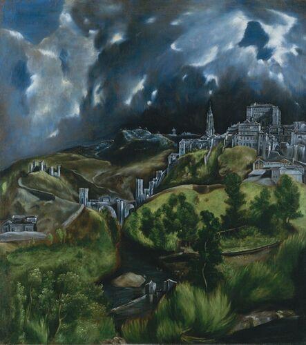 El Greco, 'A View of Toledo', 1598-1599