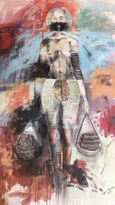 George Masarira, 'She has the Key', 2019