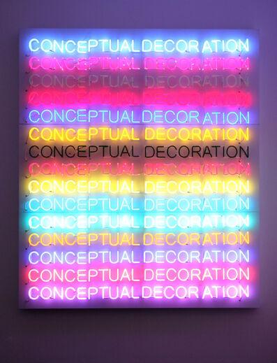Stefan Brüggemann, 'Conceptual Decoration', 2011