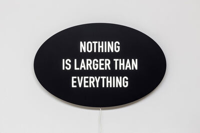 Kelly Mark, 'Nothing is Larger Than Everything', 2014
