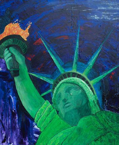 Katharine Owens, 'Lady Liberty Crying', 2017