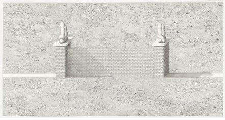 Paul Noble, 'A Wall is a Path', 2011
