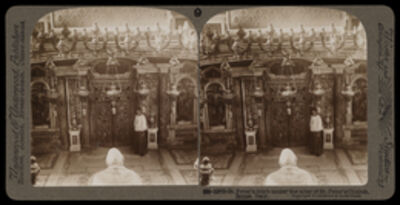 Bert Underwood, 'St. Peter's tomb under the altar of St. Peter's church', 1900