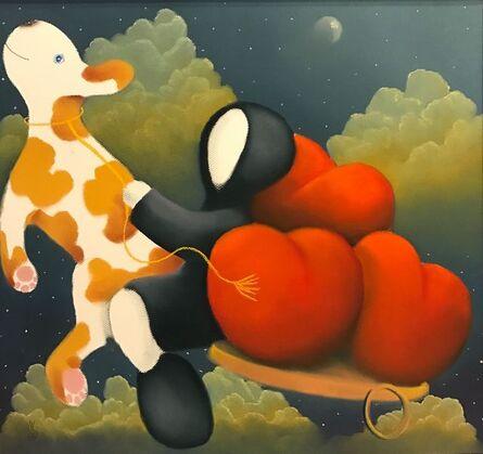 MacKenzie Thorpe, 'Up Up and Away ', 2013