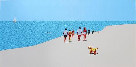Natan Elkanovich, 'Beach Mood 4', 2018