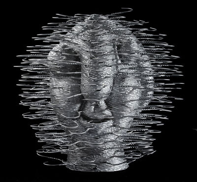 David Mach, 'Picasso Head', 2011