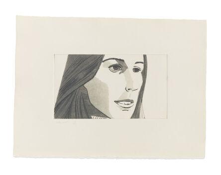 Alex Katz, 'June Ekman's Class: Fran', 1972