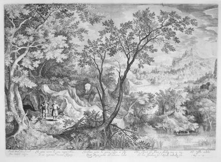 Jan Van Londerseel, 'Landscape with the Prophets Ahias and Jerobeam', 1600-1610