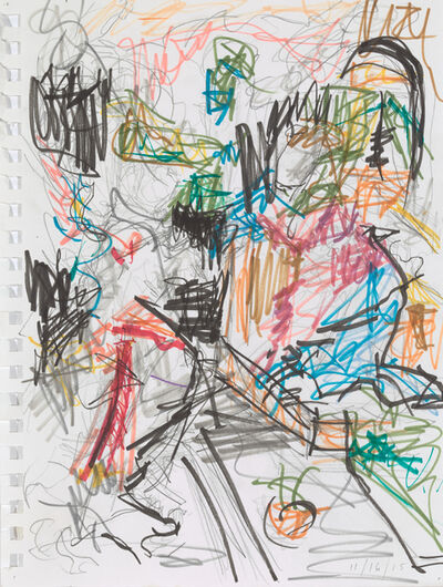 Elise Ansel, 'Study IV for Revelations', 2015
