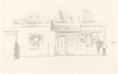 James Abbott McNeill Whistler, 'Chelsea Shops', 1888