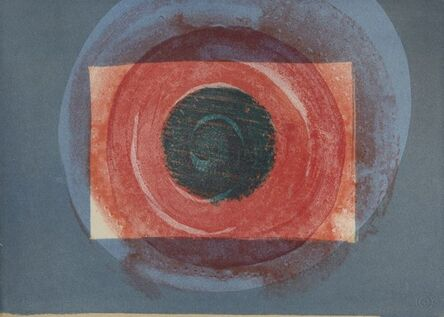 Howard Hodgkin, 'Sun (from the series: More Indian Views)', 1976