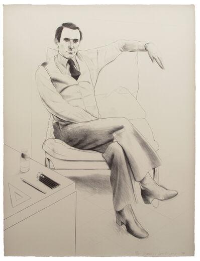 David Hockney, 'Nicholas Wilder', 1976