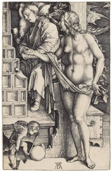 Albrecht Dürer, 'The Dream of the Doctor (B. 76; M., Holl. 70; S.M.S. 18)', ca. 1498