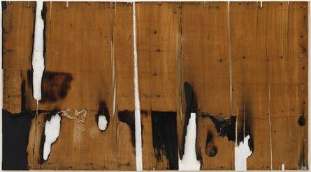 Alberto Burri, 'Legno e bianco I (Wood and White I)', 1956