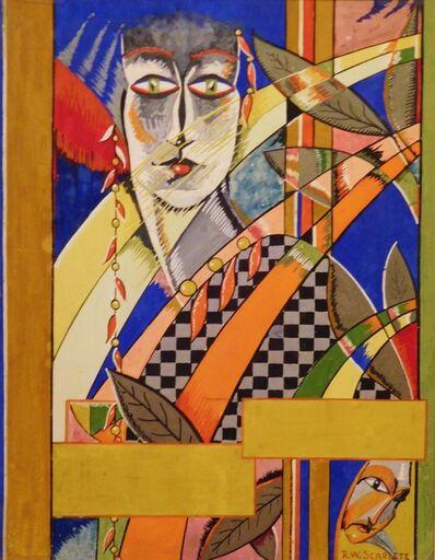 Rolph Scarlett, 'Art Deco Figure', ca. 1925