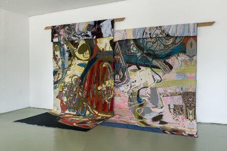 Gino Saccone, 'Corridori in Fuga (Aero) '