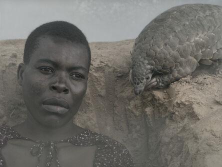 Nick Brandt, 'Luckness and Marimba, Zimbabwe', 2020