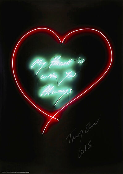 Tracey Emin, 'My Heart Is With You', 2015