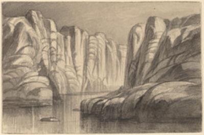 Edward Lear, 'Winding River through a Rock Formation (Philae, Egypt)', 1884/1885