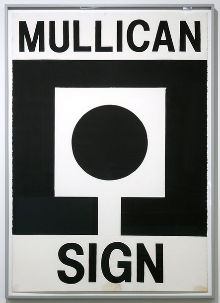 Matt Mullican, 'Untitled (Mullican poster: Sign)', 1979-1980