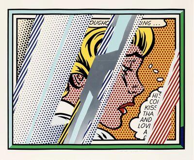 Roy Lichtenstein, 'Reflections on Girl', 1990