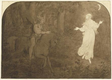 Moritz von Schwind, 'The Apparition in the Forest', 1823