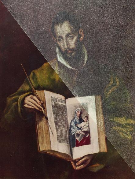 Gabriele Di Matteo, 'San Luca come pittore', 2014