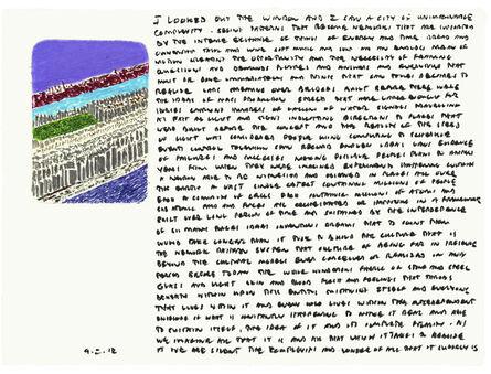 Edwin Schlossberg, '9.2.12', 2012