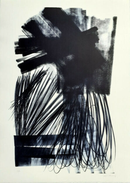 Hans Hartung, 'L-17-1973', 1973