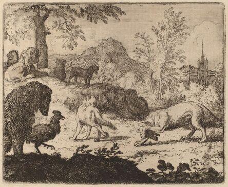 Allart van Everdingen, 'Reynard Blinds the Wolf in One Eye', probably c. 1645/1656