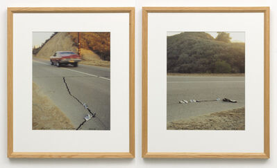 Ger van Elk, 'The Discovery of the Sardines, Placerita Canyon, Newhall, California', 1971