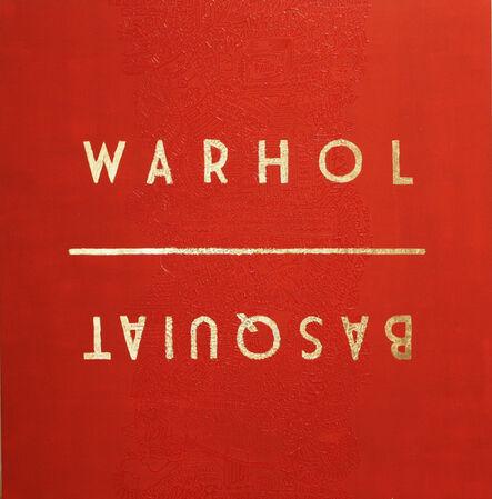 Cayla Birk., 'Over Series: WARHOL • BASQUIAT', 2017
