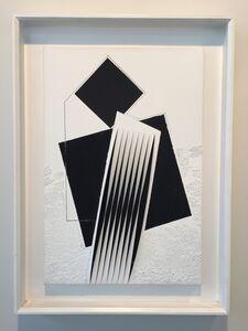 Alberto Biasi, 'Assemblaggio Ottico-Dinamico', 1999