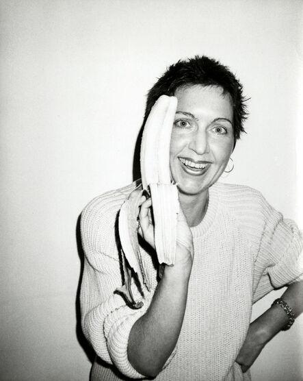 Andy Warhol, 'Pat Hackett with Banana ', 1986