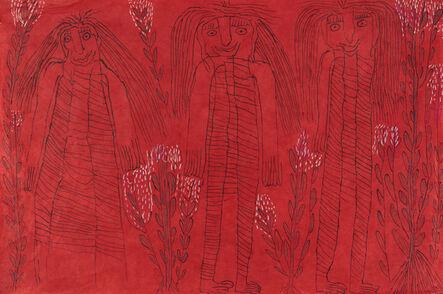 Jose Nunez, 'Untitled (Tres Mujeres) [framed]', 2017