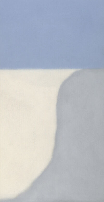 Susan Vecsey, 'Untitled (Gray/Blue Vertical)', 2014