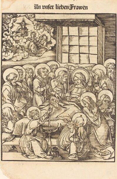 Hans Wechtlin I, 'Death of the Virgin'