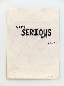 Michael Scoggins, 'Super Serious', 2014