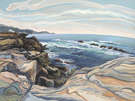 Phyllis Shafer, 'Rocky Beach'
