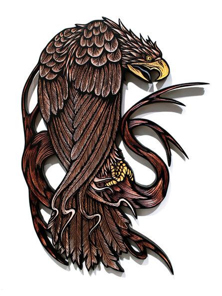 Dennis McNett, 'Pissed Off Eagle ', 2015