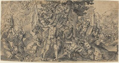 Georg Pecham, 'The Way of Salvation', ca. 1595