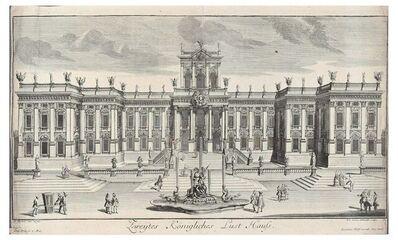Georg Friedrich Schmidt, 'Zweytes Konigliches Lust Haufs', Early 1700