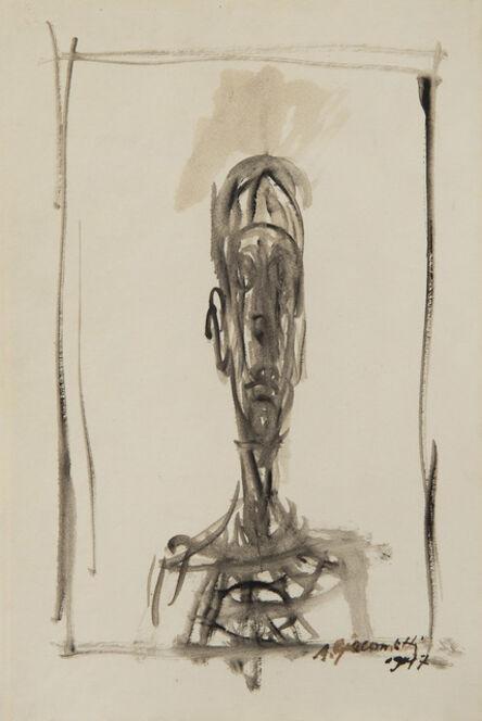 Alberto Giacometti, 'Portrait de Diego', 1947