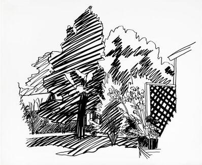 Tom Wesselmann, 'JEANNIE'S BACKYARD, EAST HAMPTON', 1989