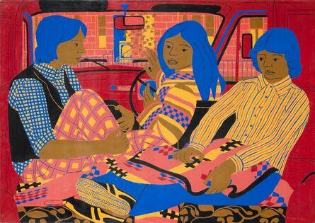 Norman Gilbert, 'The Red Van', 1977