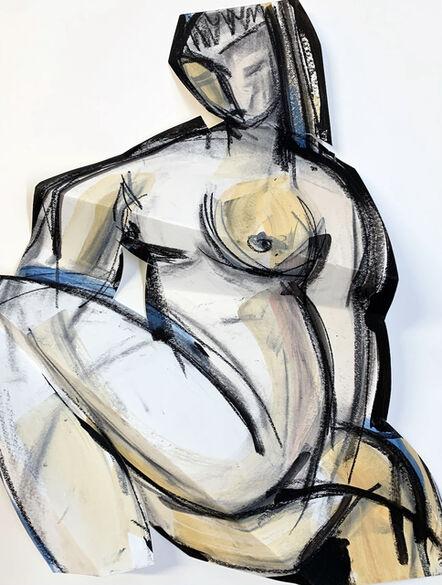 Heidi Lanino, 'Folded Female; Woman Seated I', 2020