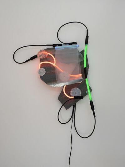 Keith Sonnier, 'Veiled Zinc Bag', 2019