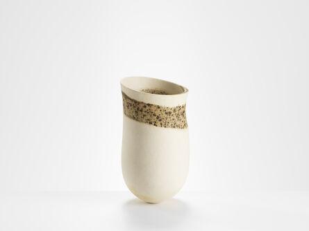 Jennifer Lee, 'Pale, speckled ring, bronze spots, olive haloes, flashing, tilted shelf', 2016